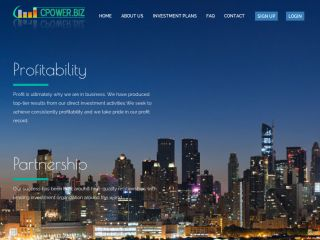 HYIP Investment Program:CPOWER LIMITED