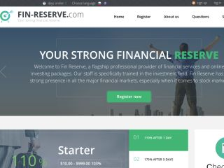 HYIP Investment Program:Fin Reserve