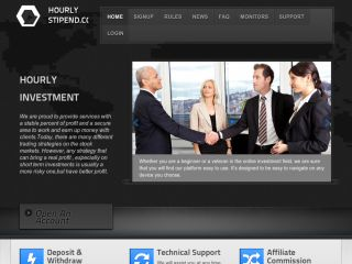 HYIP Investment Program:HourlyStipend