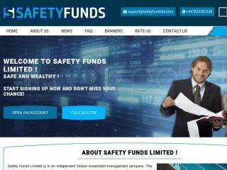 HYIP Investment Program:Safety Funds Limited