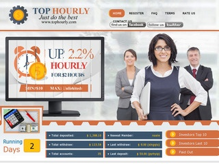 HYIP Investment Program:TopHourly