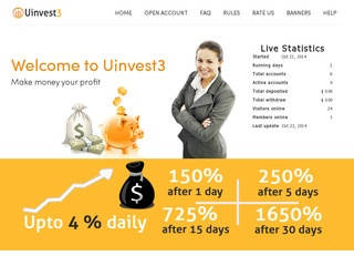 HYIP Investment Program:Uinvest3