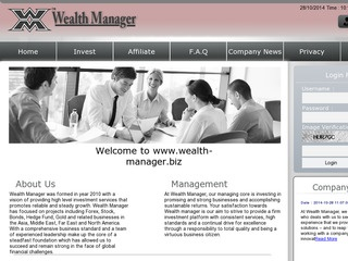 HYIP Investment Program:Wealth Manager